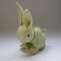Baby toy - Felt bunny rabbit