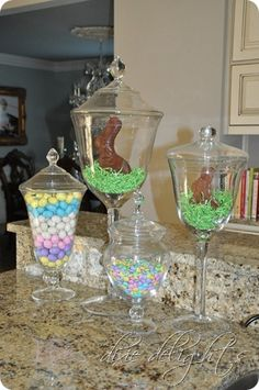Cute Easter decor..