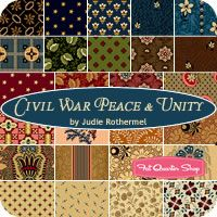 Civil War Peace & Unity Yardage Judie Rothermel for Marcus Brothers Fabrics