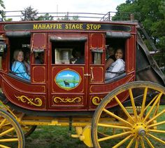 Stagecoach at Mahaffie
