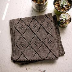 Chocolate Parfait Baby Blanket by Narangkar Glover - FREE pattern
