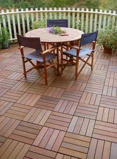 Lanai inspirations on pinterest 15 pins for Lanai flooring options