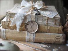 decor, vintage books, time, life, shabbi chic
