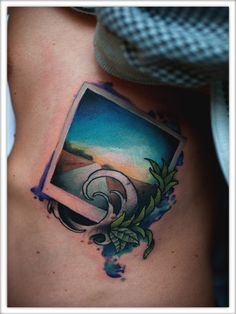 Polaroid tattoo by julian