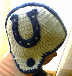 CROCHET PATTERN Colts Crochet Applique by brookeslittlestitch,