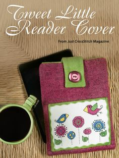 Tweet Little Reader Cover from the Jul/Aug 2014 issue of Just CrossStitch Magazine. Order a digital copy here: http://www.anniescatalog.com/detail.html?code=AM53353