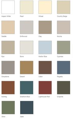 Heartland Siding Colors Vinyl Siding Color Chart Samples Holidays Oo