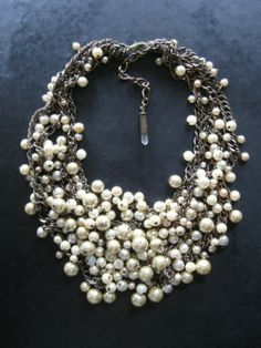 statement pearls - my dream necklace