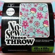No-Sew throw kit