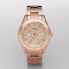 Rose-colored watch from Fossil.com