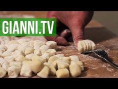 Potato Gnocchi With 3 Sauces, Italian Recipe - Gianni's North Beach - YouTube -- 2 Good Vegan Sauces