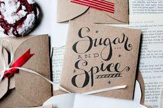 Cookie envelopes—love this idea!