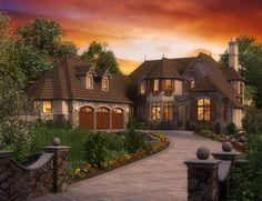 Mascord Plan 2470 - The Rivendell Manor