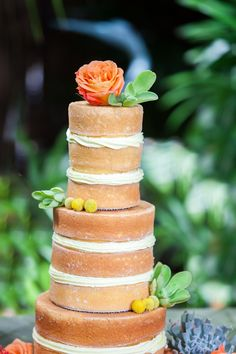 The perfect cake for a fall fete | Fall Inspiration from Filda Konec Photography + Soiree Key West  Read more - http://www.stylemepretty.com/florida-weddings/2013/10/31/fall-inspiration-from-filda-konec-photography-soiree-key-west/