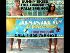 A Palm Springs radio station selects Terra Cotta Inn as a Palm Springs business of the week. It is pretty cool being selected as were are the ONLY mainstream nudist resort in the US. Thus, we are the only place that can compete with regular resorts and spa. And we are more successful. For a fun nude sunbathing vacation, call us at 1-800-786-6938.