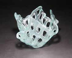 Recycled Glass Lattice Bowl – Tutorial