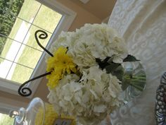 Bee Themed Baby Shower Flower Arrangement
