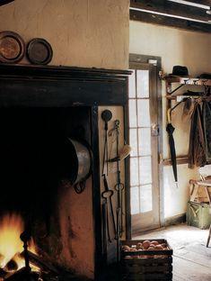 Kitchen fireplace <3
