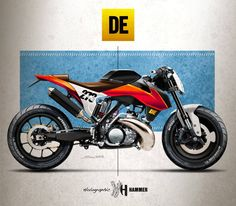 Derestricted KTM 250sx Road Racing by Holographic Hammer
