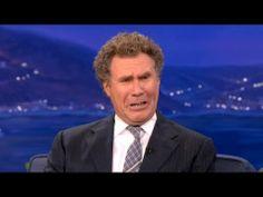 "I love him! - ""Will Ferrell Is All Busted Up Over Kristen Stewart & Robert Pattinson"" - CONAN"