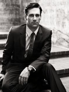 John Hamm - my current crush.