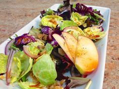 sprout salad, salad recipes, brussels sprouts, brussel sprout, raw brussel