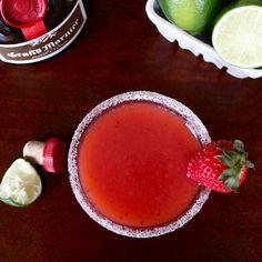 Strawberry Rhubarbarita