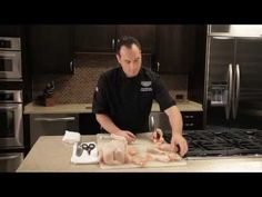 Carving a Chicken – Sanderson Farms' Corporate Chef, Steve Bonasia, shows you how quick and easy it is to carve your own chicken with step-by-step instructions.