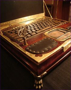 Steampunk Laptop!