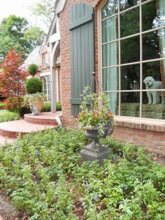 The French Tangerine: ~ patio and pots 2014
