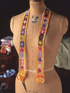Floral Chatelaine
