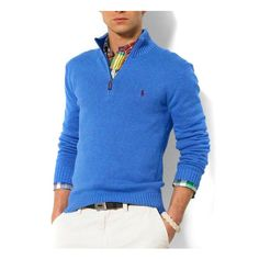 Ralph Lauren Mens Sweater Blue