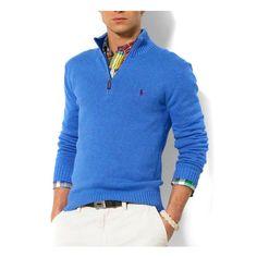 Ralph Lauren Mens Sweater Blue