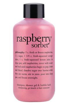 philosophy 'raspberry sorbet' shampoo, shower gel & bubble bath (Buy & Save) available at #Nordstrom