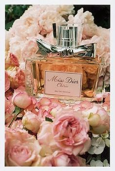 Miss Dior Cherie by Christian Dior. This is a scent that is fruity and sweet, but not overbearing whatsoever. It is actually very complex and not as simple as a lot of the other popular perfumes that are on the market. When you smell Miss Dior Cherie, you are going to get a burst of strawberries that is just playfully sweet. Even though it is sweet, it is not strong and offensive. Once the top layer dies down, you end up with a soft fruity and flowery vibe that is captivating and enthralling. This scent is very addictive and absolutely beautiful. Take a look at the notes and you can get an idea of what to expect. Top Notes: Green Tangerine and Strawberry Leaves. Middle Notes: Carmelized Popcorn, Pink Jasmine, Strawberry Sorbet and Violette. Base Notes: Crystalline Must and Fresh Patchouli.