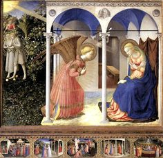 LA Anunciación, Fra Angelico | La guía de Historia del Arte
