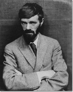 D H Lawrence, 1920  Photo by Nickolas Muray