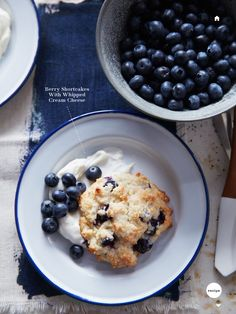 Berry Shortcakes with Whipped Cream
