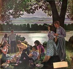 Evening Picnic - John Philip falter