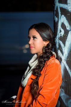 #urban #portrait #makeup #braid #beauty #boho Photography by Miriam Moskovits Hair by Ruchy Schwarzmer Makeup by Rachel Hoffman