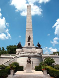 President Lincoln's Tomb Springfield, IL abraham lincoln, architects, illinois, oak ridg, lincoln tomb, travel, places, united states, bucket lists