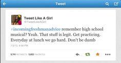 Incoming Freshman Advice