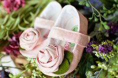 rosette maryjane pink  Wedding by GraciousMay on Etsy, $46.00