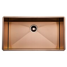ROHL Single Bowl Stainless Copper Kitchen Sink