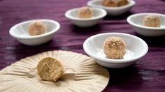 [High Protein] Healthy Cheezecake Truffles!   (Vegan, Gluten Free, Sugar Free, Allergy Friendly)