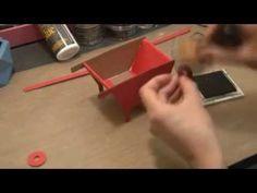 ▶ 3D Sizzix Wheelbarrow papercraft tutorial - YouTube