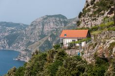 A Small Cottage Along the Walk of the Gods on the Amalfi Coast, Italy