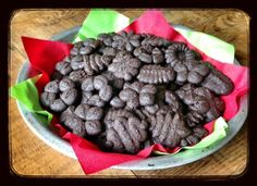 Recipe: Chocolate Peppermint Cookies (with sugar!)