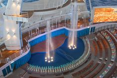 The Aqua Theater aboard the Royal Caribbean Oasis of the Seas!
