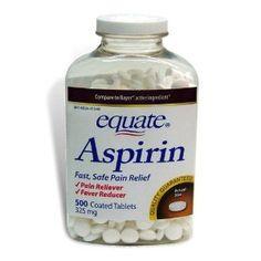 Aspirin face mask to reduce pores.